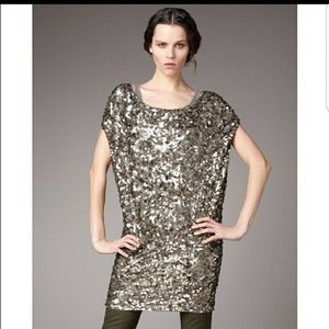 Vince Ring Sequin Dress Size L